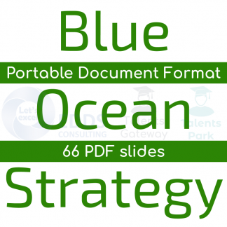 Blue Ocean Strategy - PDF slides