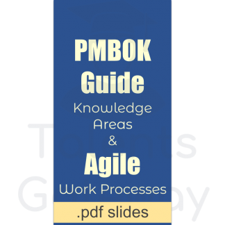 PMBOK and Agile Processes Mapping - pdf slides
