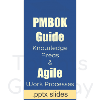 PMBOK and Agile Processes Mapping - editable .pptx slides