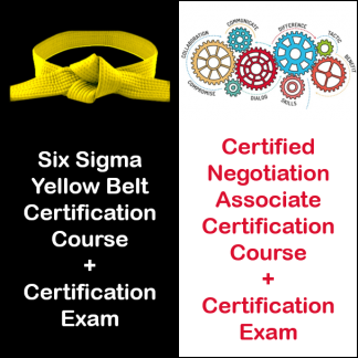 Group Product-Six Sigma Yellow Belt-&-Certified Negotiation Associate