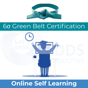 Six Sigma Green Belt - Online Self Learning course