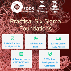 Practical Six Sigma Foundations Webinar - EDDS Consulting